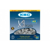 ЛАНЦЮГ KMC X9-EPT 1/2Х11/128Х116L, 9ШВ., KMC CHAINS