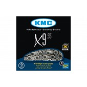 ЛАНЦЮГ KMC X9.93 1/2Х11/128Х116L, 9ШВ., KMC CHAINS