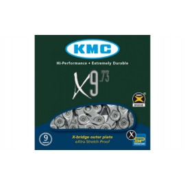ЛАНЦЮГ KMC X9.73 1/2Х11/128Х116L, 9ШВ., KMC CHAINS