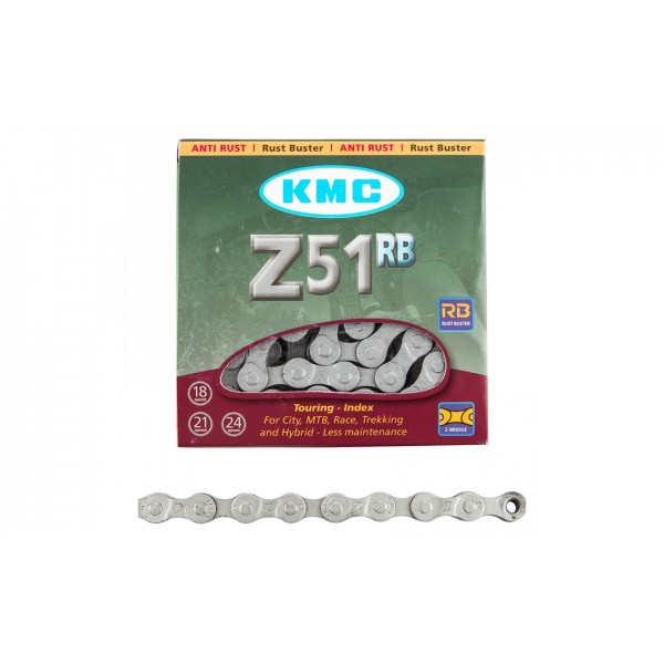 """ЛАНЦЮГ KMC 7SP Z51RB """"RUST BUSTER"""" 1/2X3/32X116L, KMC CHAINS"""