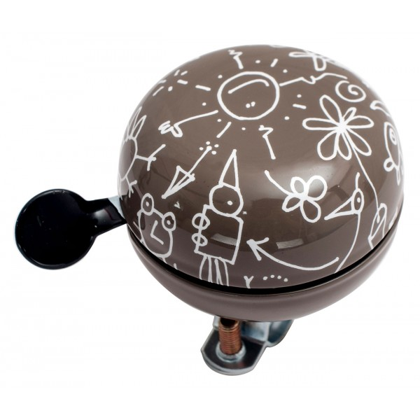 Звонок Дин-донг Green Cycle GBL-359 Cofee 60мм