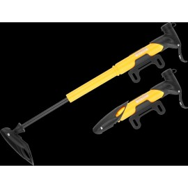 Насос мини GIYO GP-77 пластик. AV/FV (80psi) T-ручка  желтый