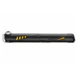 Насос мини GIYO GP-49 пластик. AV/FV (100psi) черный с желтым