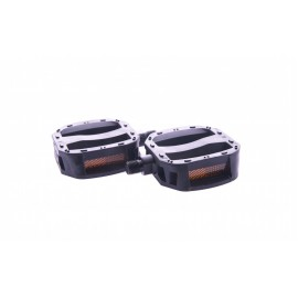 Педали Feimin FP-650 1/2 детские пластик чорный